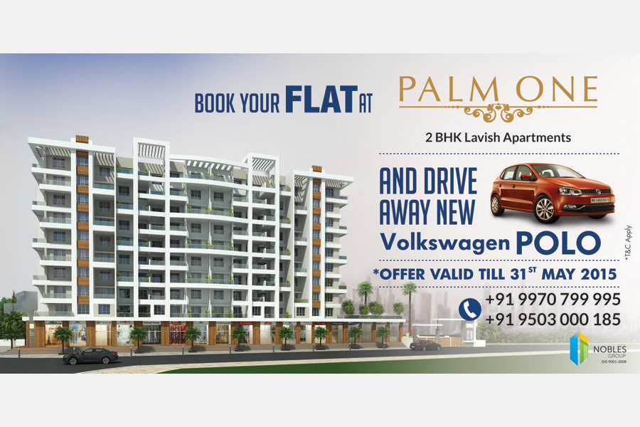 Palm One Site Hoarding