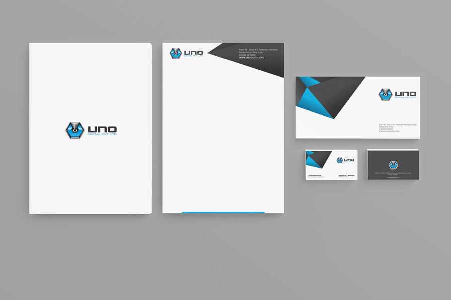 UNO Digital stationery